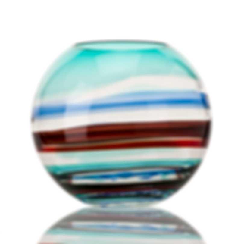 Venini Miraggio Di Colore Hand Blown Glass Vase 2FO354711000A0AZG