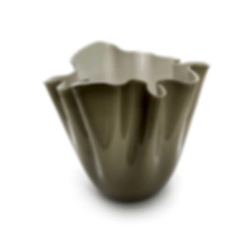 Venini Fazzoletto Opalino Hand Blown Glass Vase 2FO370000000O0ASI