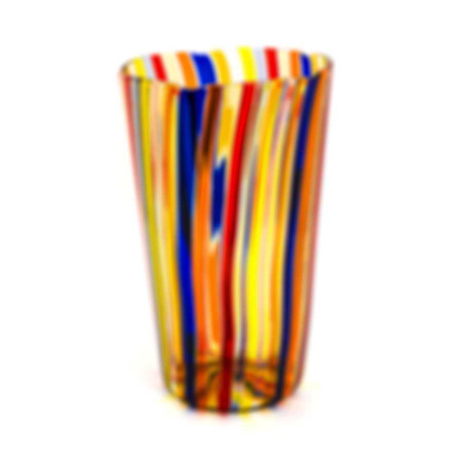 Venini Vaso A Canne Hand Blown Glass Vase 2TO300521000C0AVS