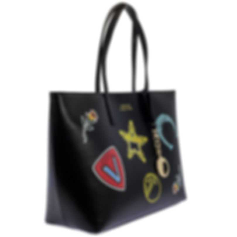 Versace Collection Black Saffiano Logo Tote - LBF0492S-LSSPS-LMNOC