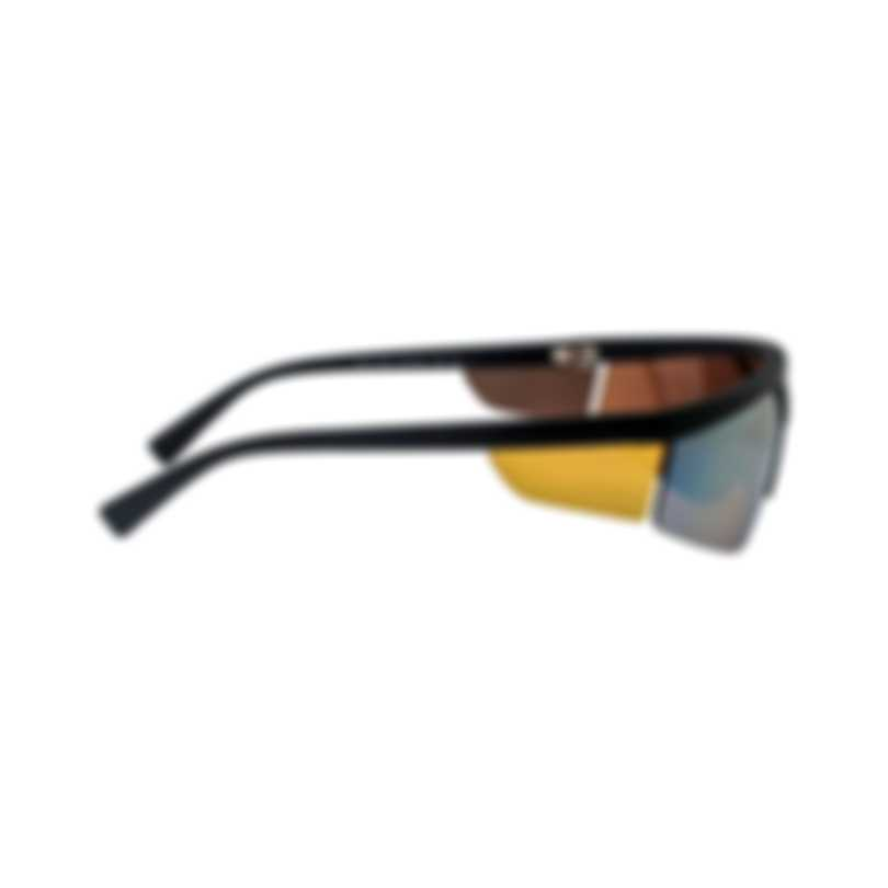 Versace Brown Orange Unisex Acetate Sunglasses VE4349-50795A