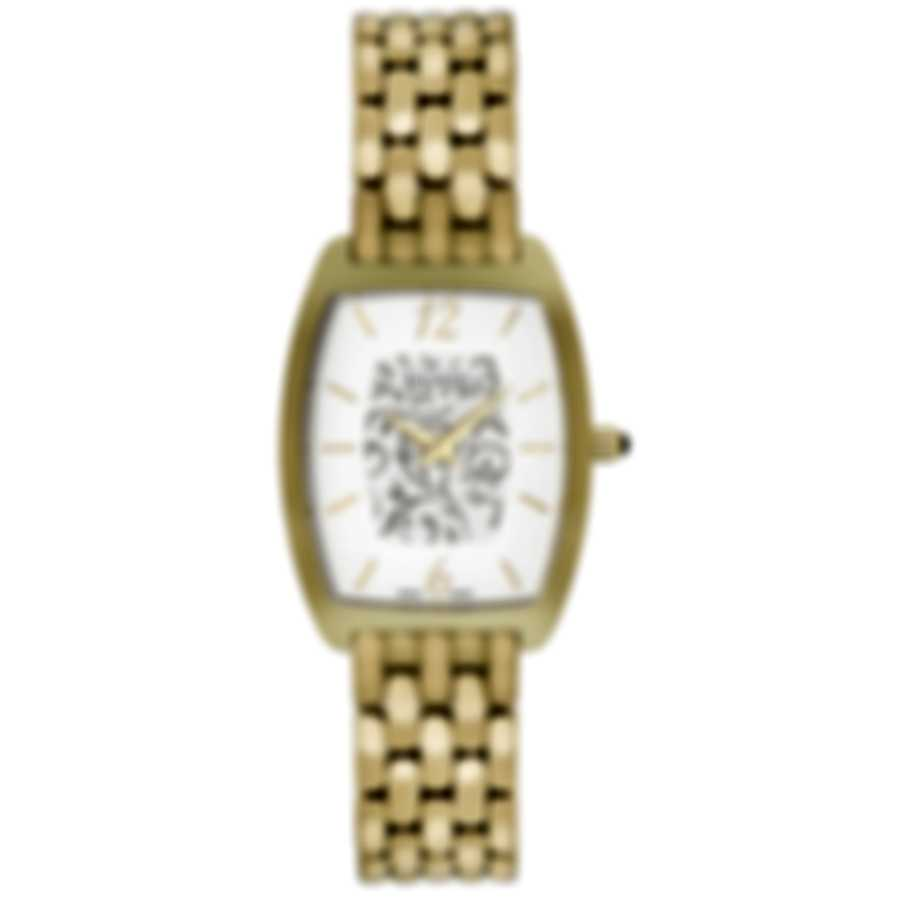 Balmain Silver Dial  PVD Coated Stainless Steel Quartz Ladies Watch B17103314