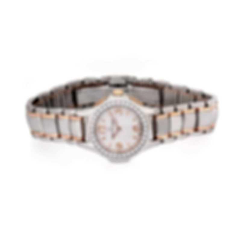 Carl F. Bucherer Pathos Princess 18k Rose Gold & Steel Diamond Ladies Watch 00.10521.07.26.31