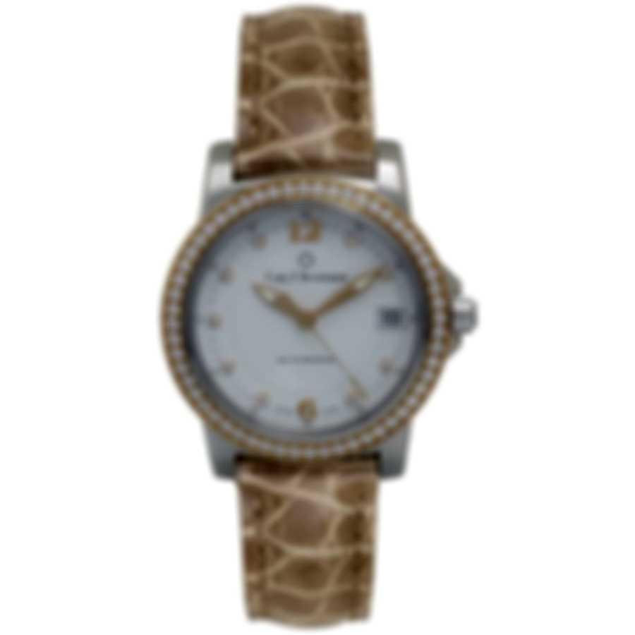 Carl F. Bucherer Patravi Autodate Diamond Ladies Watch 00.10622.06.24.11