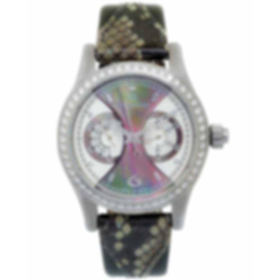 Carl F. Bucherer Diamond Manero Monograph Chronograph Ladies Watch 00.10904.08.86.11
