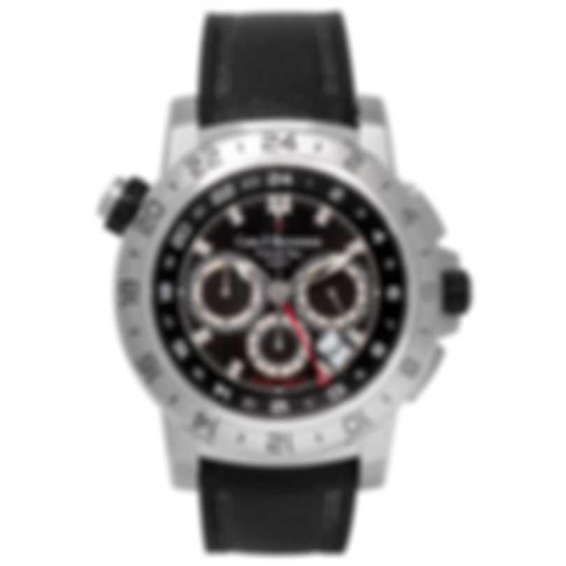 Carl F. Bucherer Patravi Traveltec II Chronograph Timezone Men's Watch 00.10633.08.33.01
