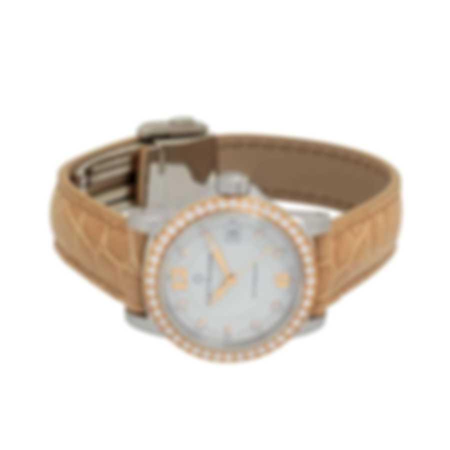 Carl F. Bucherer Patravi Autodate Two Tone Diamond Ladies Watch 00.10621.06.24.11