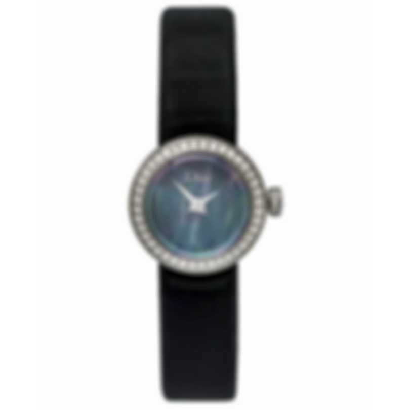 Dior La D De Dior Black Mother Of Pearl Diamond Ladies Watch CD040110A002