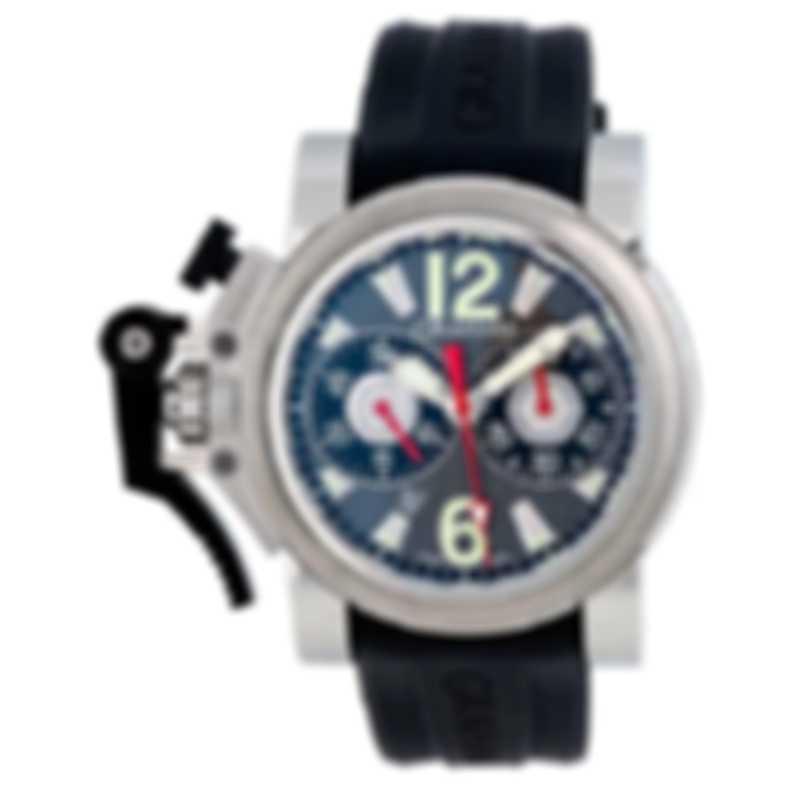 "Graham Chronofighter Oversize ""Gun Metal"" Chronograph Watch 2OVBS.B11A"