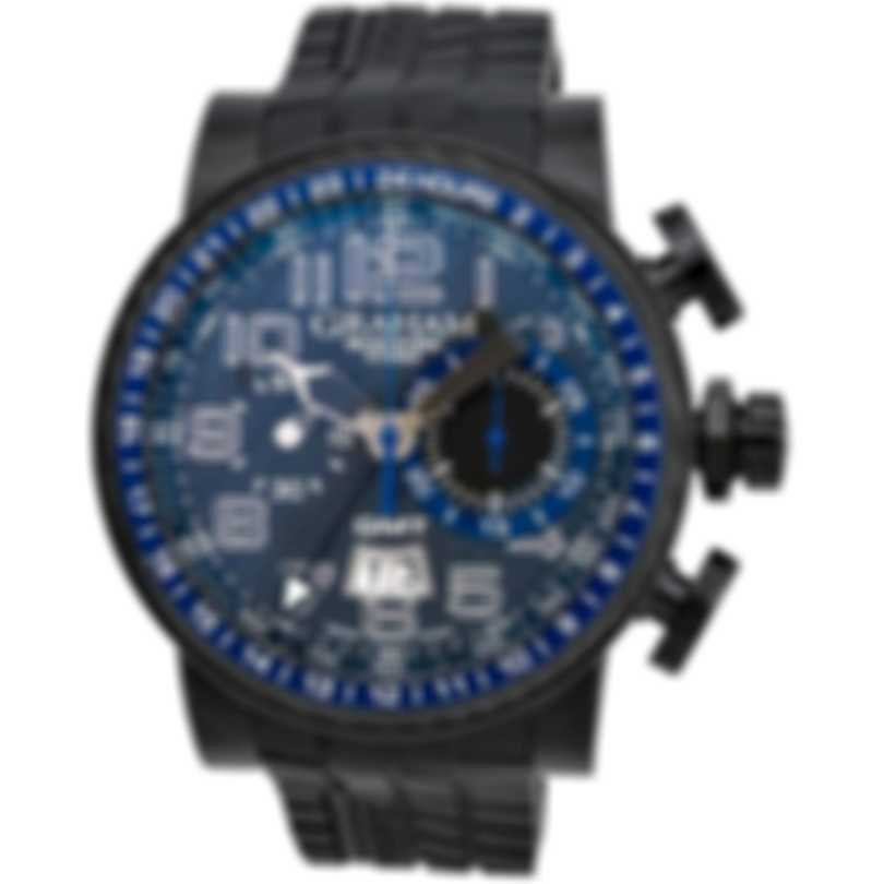 Graham Silverstone Stowe GMT Chronograph Automatic Men's Watch 2BLCB.B30A