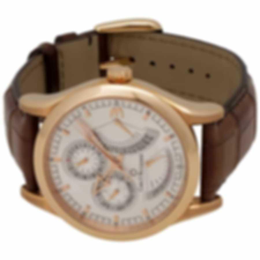 Carl F. Bucherer Manero 18K Rose Gold Retrograde Men's Watch 00.10901.03.16.01