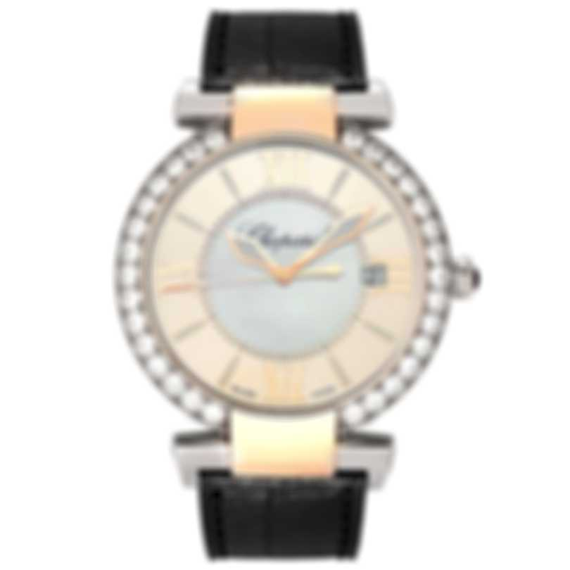 Chopard Imperiale Diamond Mother Of Pearl 18k Gold & Steel Automatic Ladies Watch 388531-6003