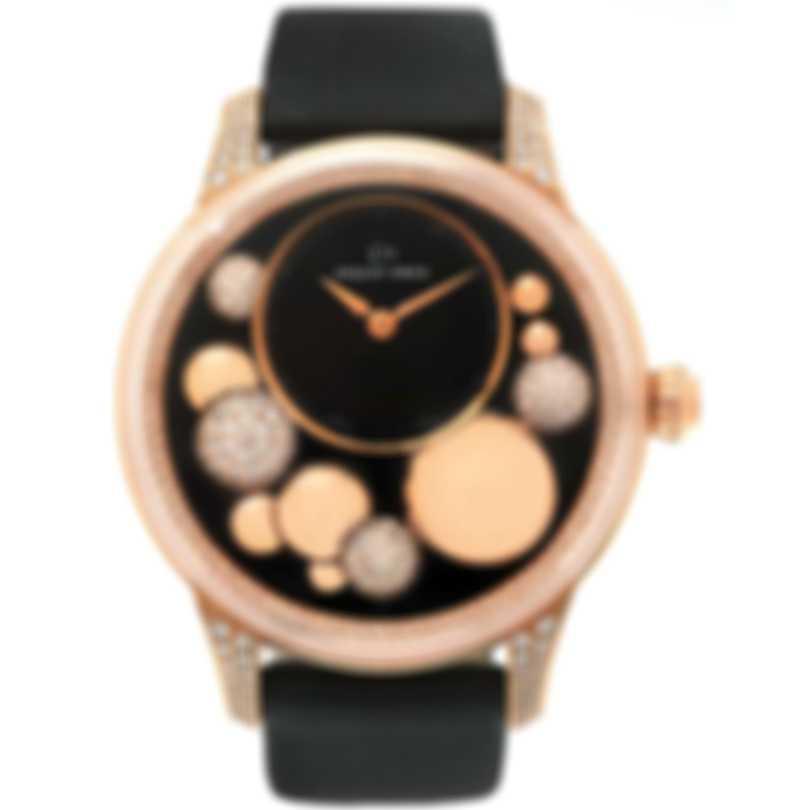 Jaquet Droz Petite Heure Minute Celeste 18k Rose Gold Automatic Ladies Watch J005023531