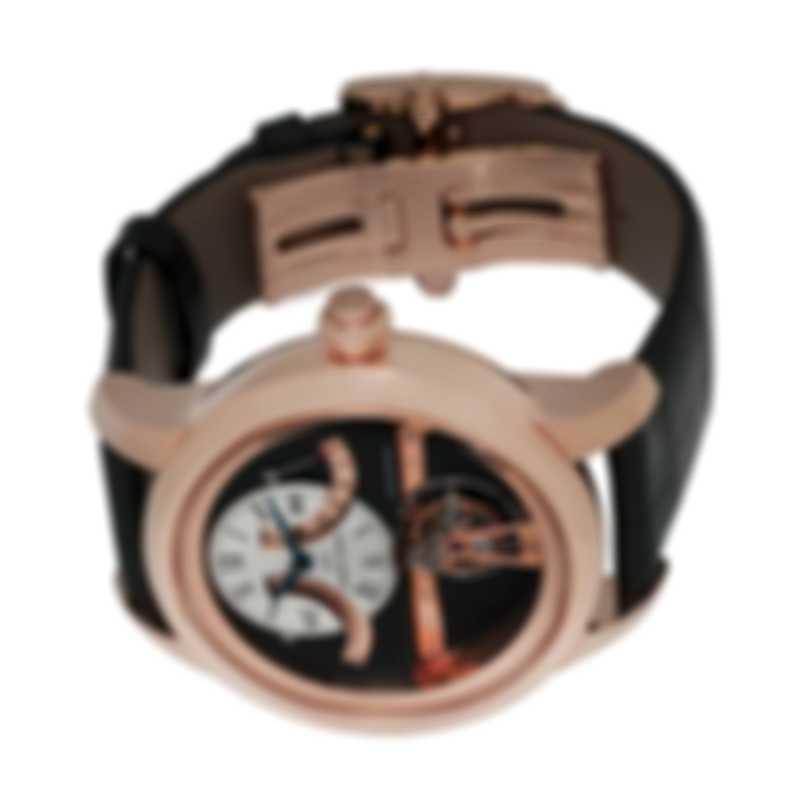 Jaquet Droz Tourbillon Retrograde Reserve De Marche 18k Rose Gold Manual Wind Men's Watch J028033201