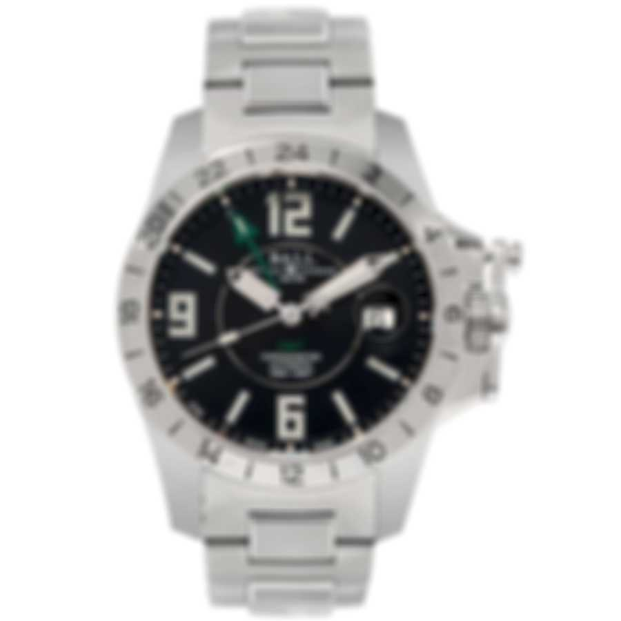 Ball Hydrocarbon Magnate GMT Chronometer Automatic Men's Watch GM2098C-SCAJ-BK