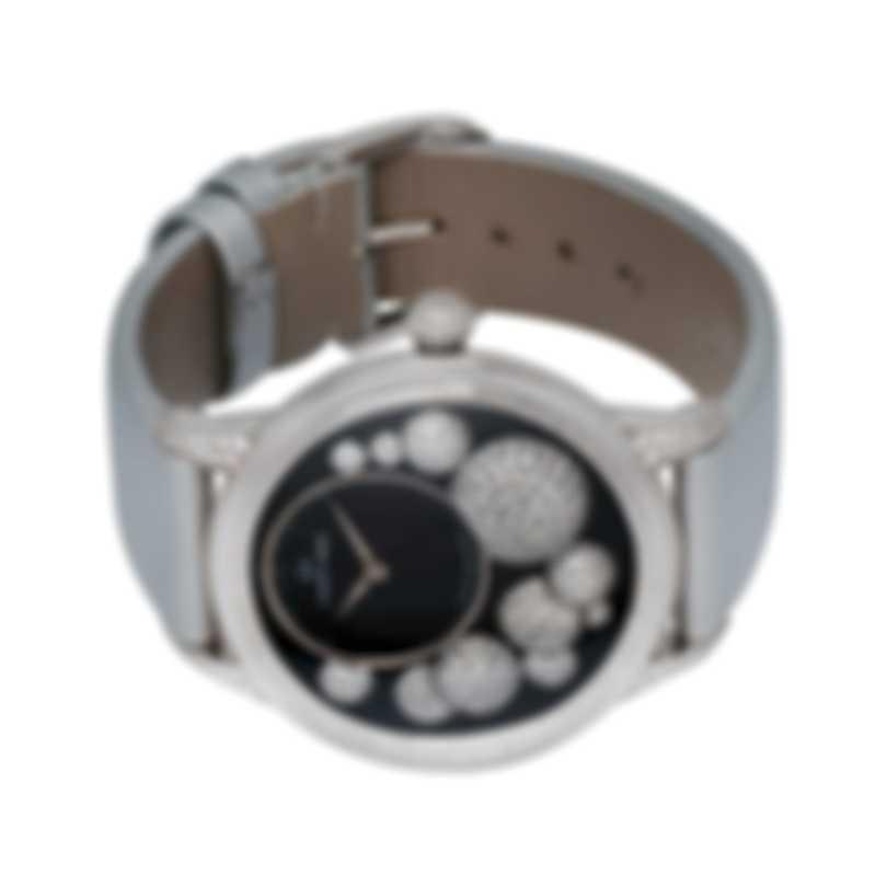 Jaquet Droz Petite Heure Minute Celeste 18k White Gold Automatic Ladies Watch J005024530