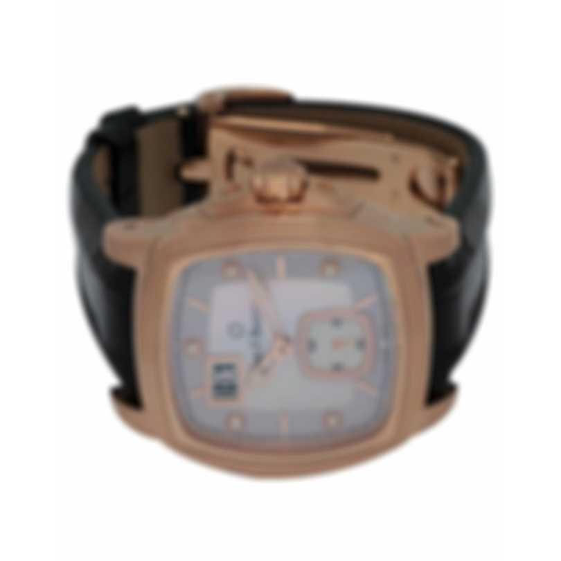 Carl F. Bucherer 18K Rose Gold Patravi Evotec Big Date Diamond Automatic Men's Watch