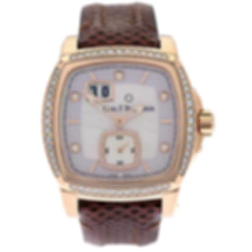Carl F. Bucherer 18k Rose Gold Diamond Patravi Evotec Big Date Automatic Watch 00.10628.03.77.11