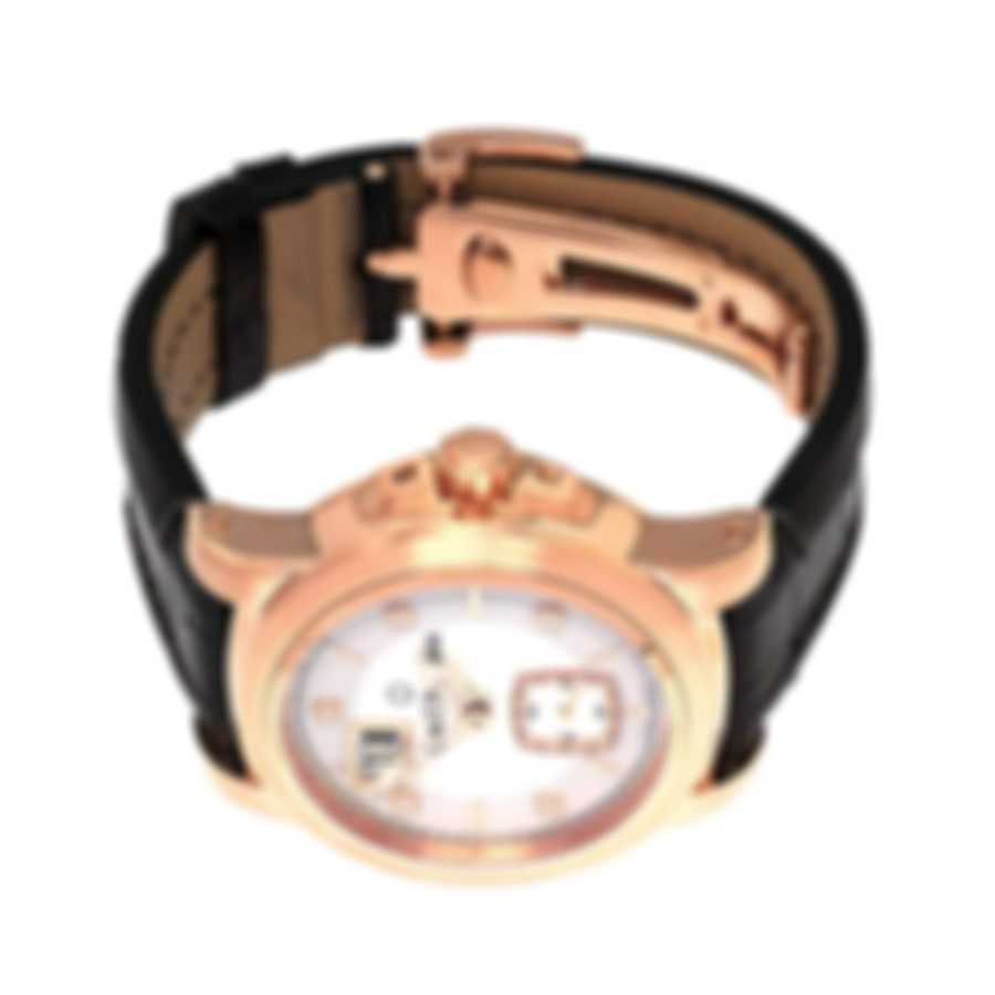Carl F. Bucherer 18k Rose Gold Diamond Patravi Date Automatic Ladies Watch 00.10630.03.77.01