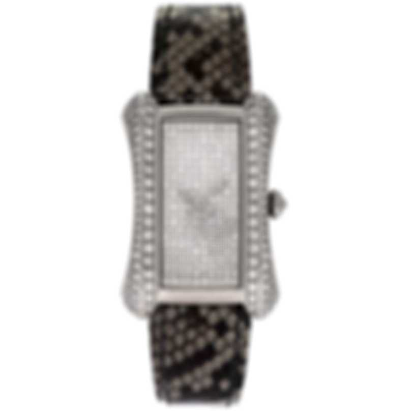 Carl F. Bucherer Alacria Midi 18k White Gold Diamond Ladies Watch 00.10702.02.90.11