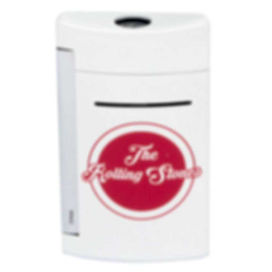 S.T. Dupont Rolling Stones Limited Edition White Minijet Lighter 010109