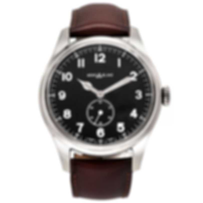 Montblanc 1858 Black Dial Automatic Men's Watch 115073