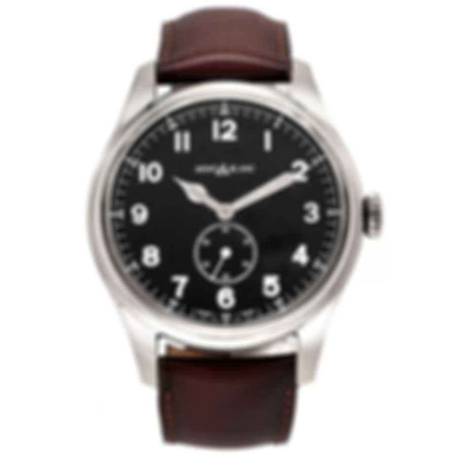Montblanc 1858 Black Dial Automatic Men's Watch 115073