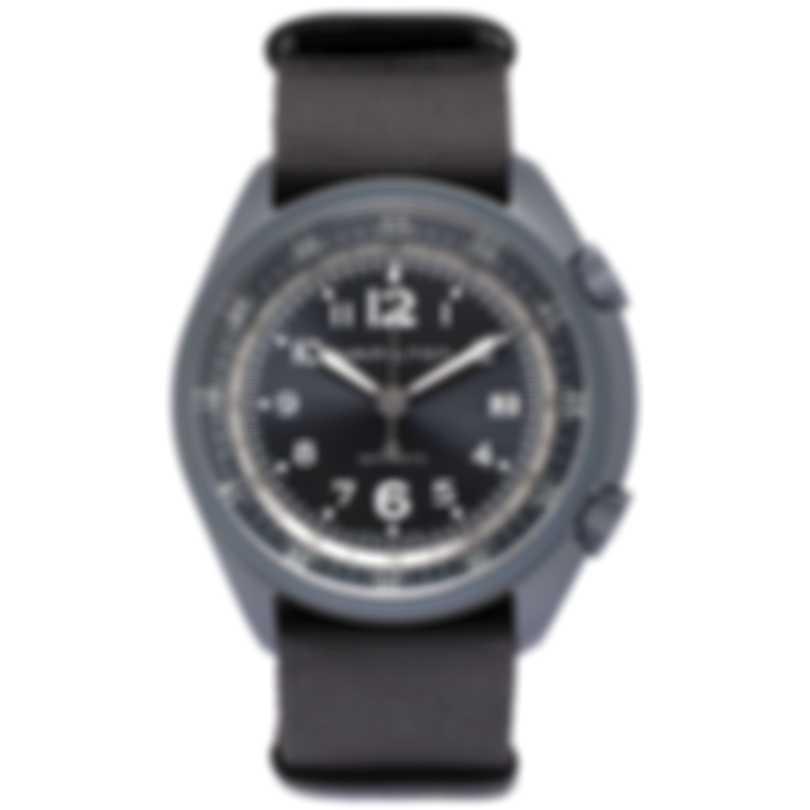 Hamilton Khaki Pilot Pioneer Blue Aluminum Automatic Men's Watch H80495845