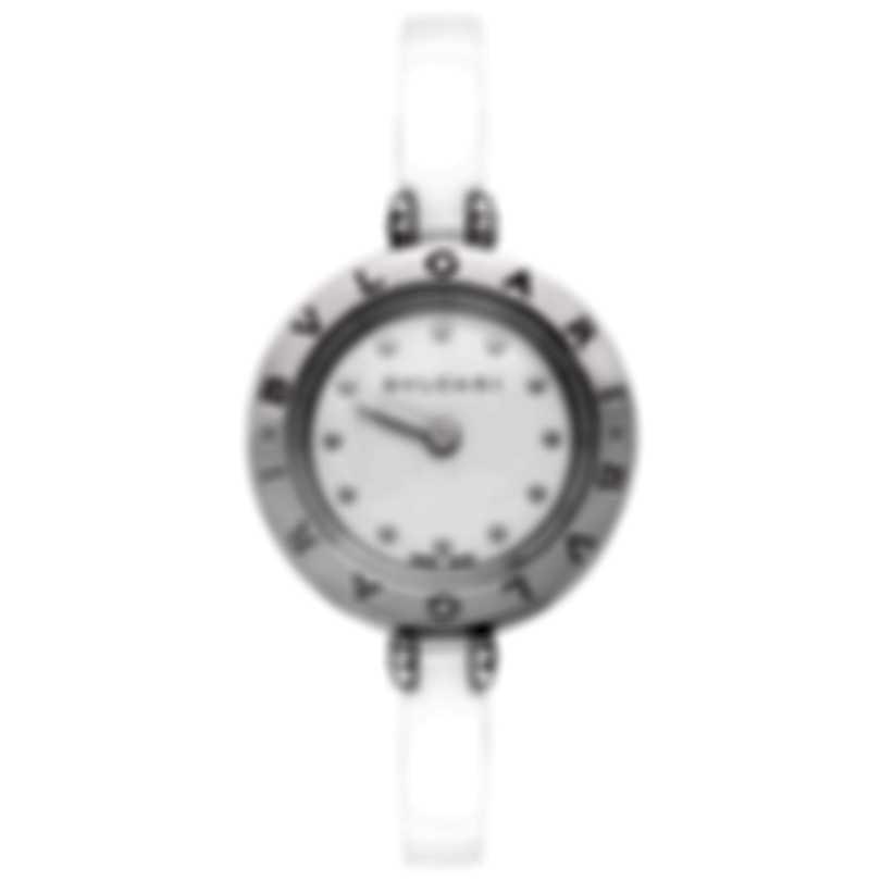 Bvlgari B.zero1 Stainless Steel And Ceramic Quartz Ladies Watch 102086