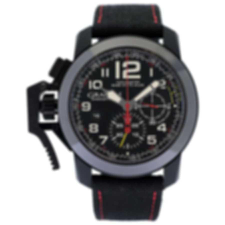 Graham Chronofighter Oversize Isle Of Man Superlight Men's Watch - 2ccbk.b07a