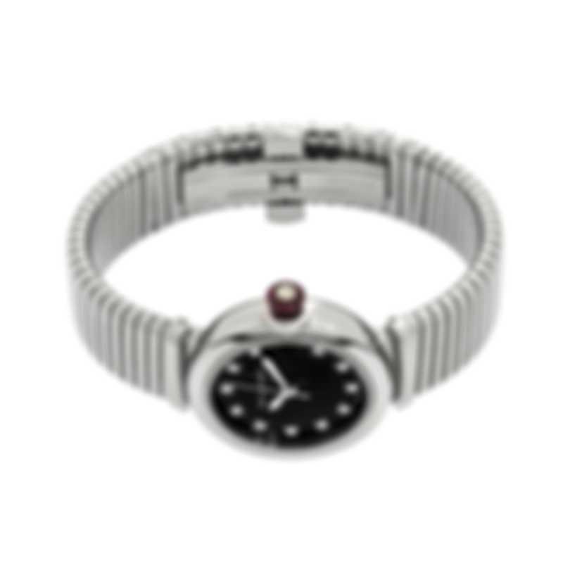 Bvlgari Lvcea Tubagos Diamond 33mm Automatic Ladies Watch LU33BSSD/11.T