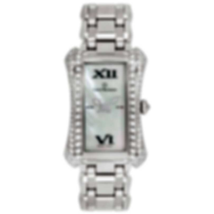 Carl F. Bucherer 18k White Gold Alacria Queen Quartz Ladies Watch 00.10701.02.71.32