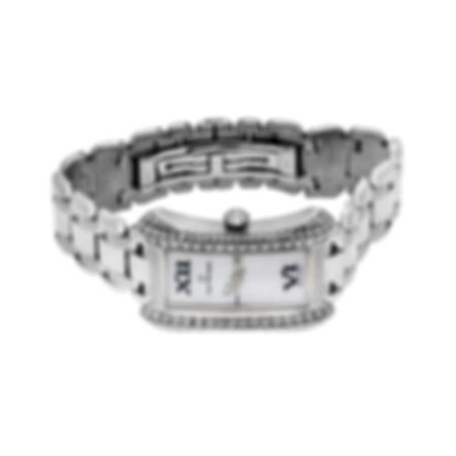 Carl F. Bucherer 18k White Gold Alacria Queen Quartz Ladies Watch 00.10701.02.71.32