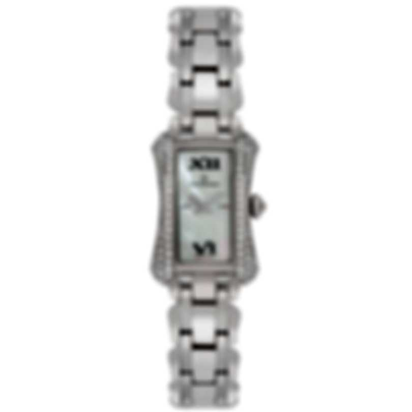 Carl F. Bucherer 18K White Gold Diamond Alacria Princess Quartz Ladies Watch 00.10703.02.71.32