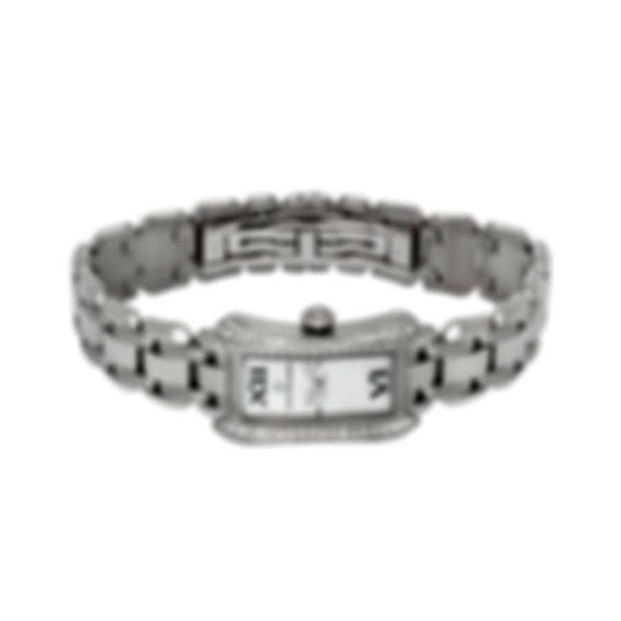 Carl F. Bucherer 18K White Gold Diamond Alacria Princess Quartz Ladies Watch 00.10703.02.71.32